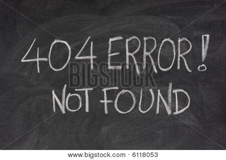 Internet Error 404 - File Not Found