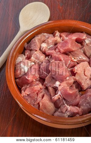 fresh pork meat