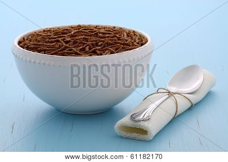 Healthy Bran Cereal Breakfast