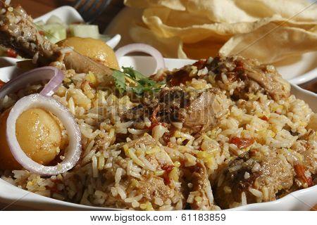 Sindhi Biryani - A Non-veg Dish Sindhi Cuisine