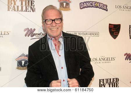 LOS ANGELES, CA - MARCH 6: Pat O'Brien arrives the Hollywood Comes Out to Salute to Our Heroes fundraiser on March 6, 2014 at the Specialty Car Craft Motorgroup on Los Angeles, CA.