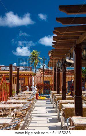 Restaurant In Baracoa, Cuba