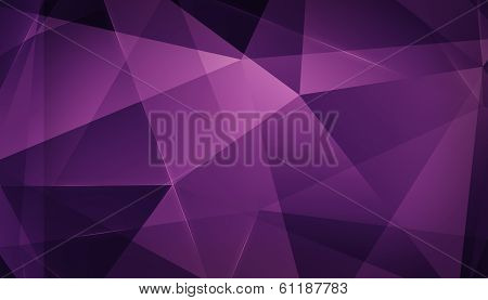Abstract Geometric Triangle Background. Pink Version.
