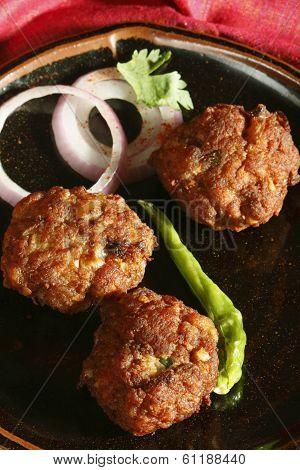 Kacche Kebab - A Dish From Hyderabad