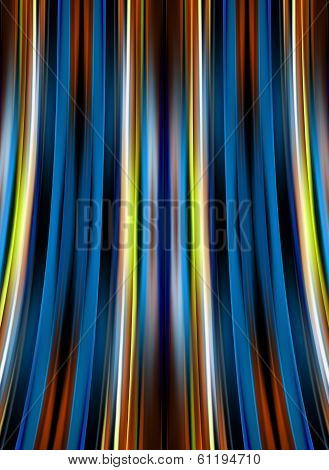 Curved Lines Background