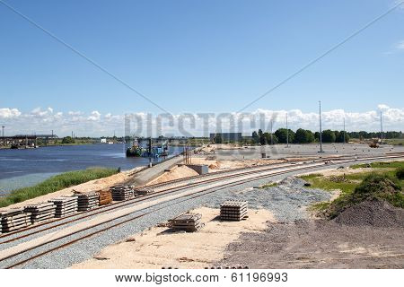 New Commercial Dock Construction
