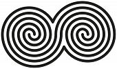 Celtic Double Spirals