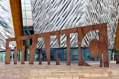 Belfast Titanic Visitor Attraction And A Monument
