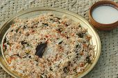 foto of biryani  - Biryani biriani or beriani is a set of primarily South Asian rice - JPG