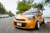 Tuned Car Nissan March