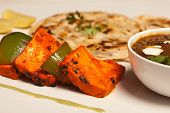 foto of paneer  - Tandoori Paneer Tikka Kebab is the wonderful kebab dish - JPG