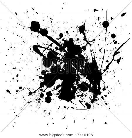 Ink Blood Splat Grunge