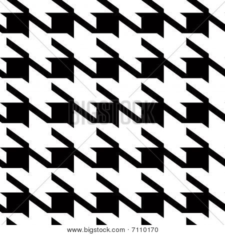 Houndstooth Large Background