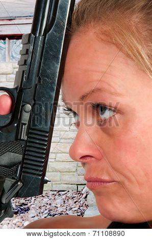 Suicidal Woman