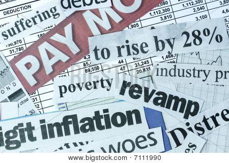 Zwakke economie