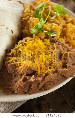 Homemade Refried Beans With Cheese