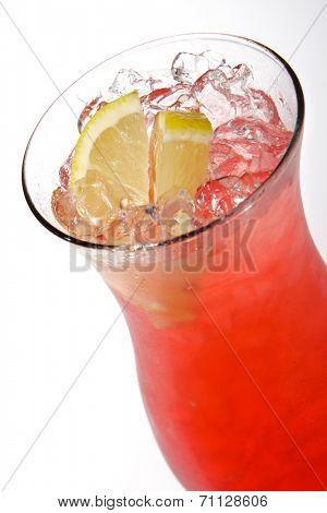 Super Cosmopolitan - Cocktail with Gin, Grenadine and Lemon