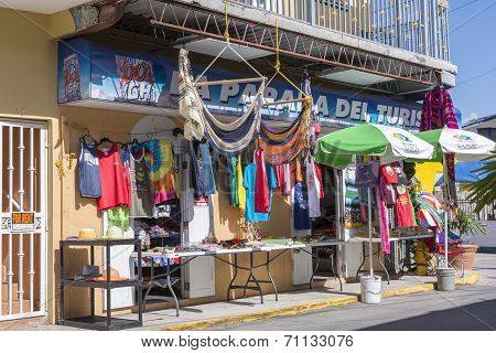Tourist Shop In Boqueron, Puerto Rico