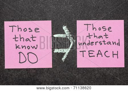 Do And Teach