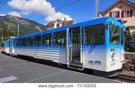 Rigi Railways Train