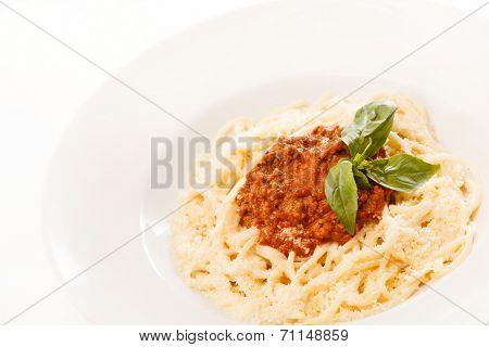 delicious pasta plate