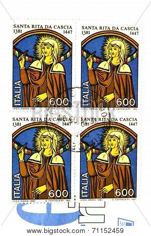 Stamp Of St. Rita Of Cascia