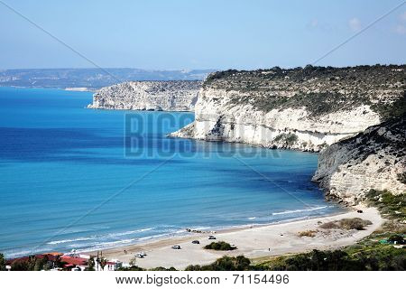 coastline at Kourion, Cyprus
