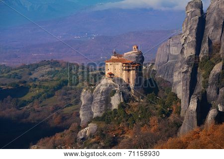 View on the Holy St. Nicholas Anapausas monastery