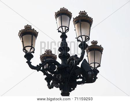 Classic Streetlight Detail