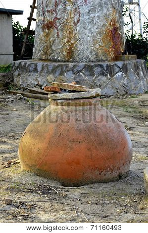 Old-time Amphoras