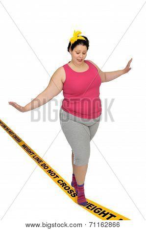 Weight Line Do Not Cross
