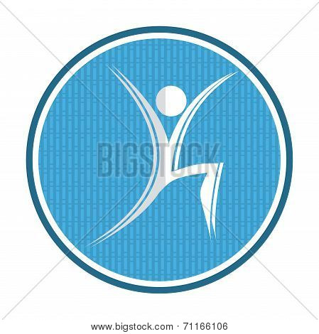 Fitness, Aerobic Icon