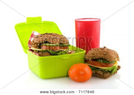 Healthy Take Away Lunch Box