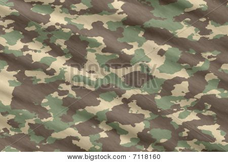 Camo Camouflage Material