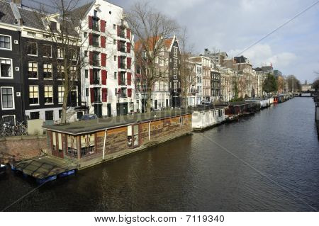 Boat Houses Amsterdam
