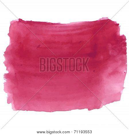 Dark deep red watercolor