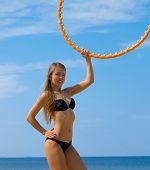 stock photo of denude  - Joy Model Fitness - JPG
