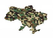 stock photo of camo  - Ukraine  - JPG