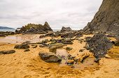 foto of basque country  - Photographs of a beach in the Basque Country - JPG