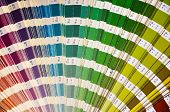 stock photo of dtp  - Colour palette for design and painting - JPG
