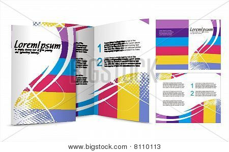 brochure design for night club