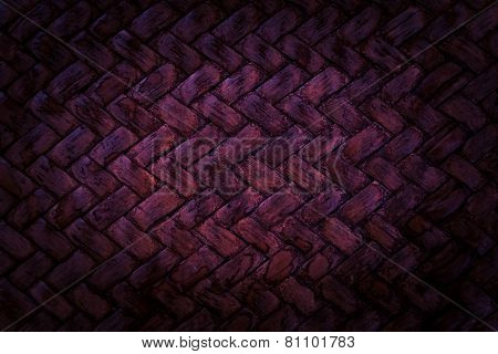 Purple Basket Weave Pattern