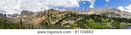 Colorado Mountains Panoramic Landscape
