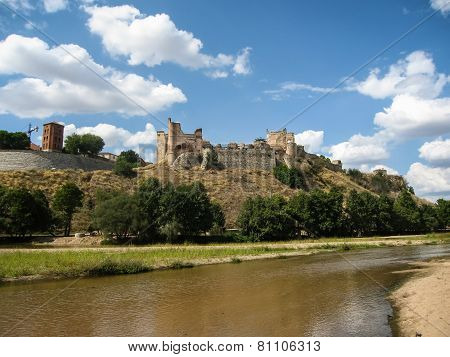 Castle Of Escalona, Avila, Castilla Y Leon, Spain