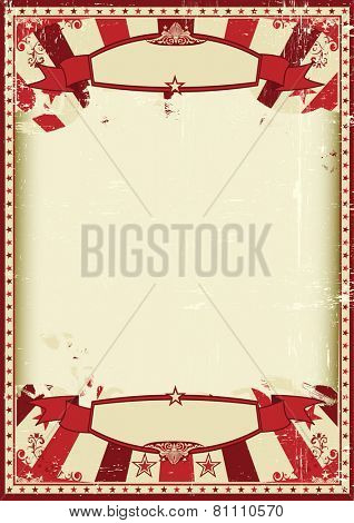 retro grunge scratched background. A vintage and retro grunge background with a large empty frame for a poster