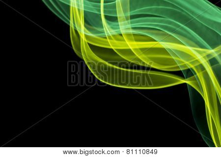 Rippling light wave