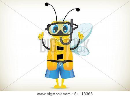 Diver Bee
