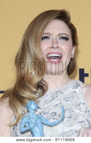 LOS ANGELES - JAN 25:  Natasha Lyonne at the 2015 Screen Actor Guild Awards at the Shrine Auditorium on January 25, 2015 in Los Angeles, CA
