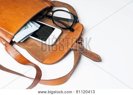 Hipster Girl's Bag