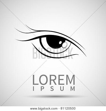 Eye Icon Look Human Vision Symbol